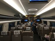 China Railway CR400AF-2064 G5601(Shenzhenbei to West Kowloon) compartment