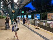 Disneyland Resort Station platform 01-08-2021