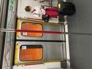 MTR Island Line train door 15-09-2021