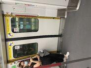 MTR Tung Chung Line train door 02-09-2021