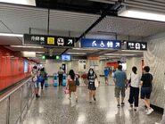 Yau Ma Tei exit gate 04-07-2020