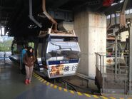 Ngogng Ping 360 cable car 34 alighting passenger