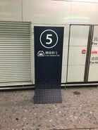 Hong Kong West Kowloon board about for Hong Kong Island taxi