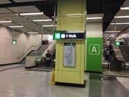 Nam Cheong to Exit A escalators
