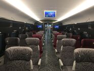 MTR XRL 1st class compartment 1