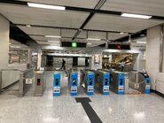 Hong Kong exit gate 03-03-2020