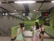 Ho Man Tin Exit A go to concourse escalator 23-10-2016