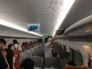 MTR CRH380A-0251 G5622(Hong Kong West Kowloon to Shenzhenbei) compartment 03-06-2019