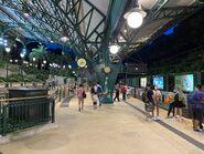 Disneyland Resort Station platform 01-08-2021(2)