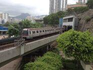 M Train Kwun Tong Line to Tiu King Leng 24-06-2015(2)