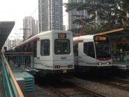 1003 and 1011 MTR Light Rail 761P 29-04-2017