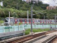 E9-E28 MTR East Rail Line in near Hin Keng 02-09-2021