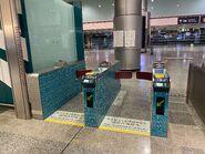 Hong Kong Station(Airport Express) exit gate 13-01-2021