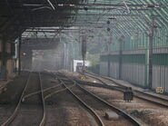 Rail south to MKK
