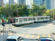 1036 plus 1021(176) MTR Light Rail 751 13-08-2020