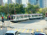 1036 plus 1021(176) MTR Light Rail 751 13-08-2020