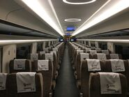 China Railway CR400AF-2064 G5601(Shenzhenbei to West Kowloon) compartment 2