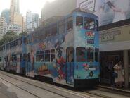 Hong Kong Tramways 142(103) Sheung Wan(Western Market) to Shau Kei Wan 09-06-2016