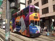 Hong Kong Tramways 95(110) Shau Kei Wan to Sheung Wan(Western Market) 06-06-2016