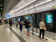 Ho Man Tin Tuen Ma Line platform 27-06-2021(5)
