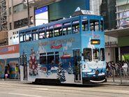 Hong Kong Tramways 109(105) Shau Kei Wan to Happy Valley 28-11-2020