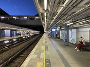 Kowloon Tong East Rail Line platform 04-09-2021