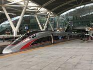 China Railway CR400AF-A-2082 G6533(Guangzhounan to Hong Kong West Kowloon) 10-07-2019
