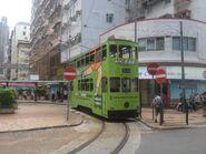 Hong Kong Tramways 110(008) Shau Kei Wan to Sheung Wan(Western Market) 07-06-2016(2)