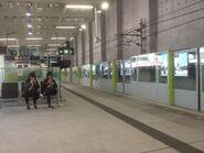 Wong Chuk Hang platform 25-01-2017