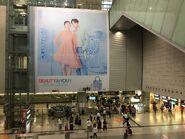 Elements to Kowloon Station long escalator