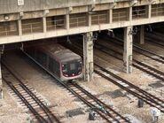 MTR Q Train in Tsuen Wan Depot 25-03-2021