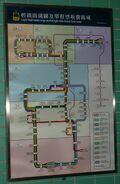 WRL Light Rail route map and single ride ticket fare zone