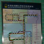WRL Light Rail route map and single ride ticket fare zone.JPG