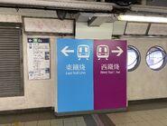 Hung Hom teach East Rail Line and West Rail Line board 20-06-2021(2)