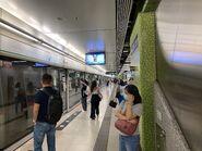 Ho Man Tin Kwun Tong Line platform 11-08-2021