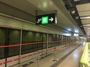 Ho Man Tin Tuen Ma Line platform(2) 10-04-2019