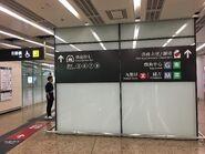 Hong Kong West Kowloon board for taxi to Hong Kong Island Kowloon Station and Elements