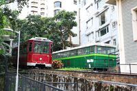 Peak Tram old and now(0409)