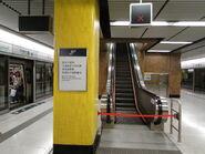Wts unused escalator