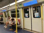 MTR Tuen Ma Line compartment 30-08-2021