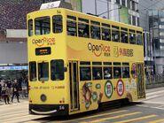 Hong Kong Tramways 56(013) to Shau Kei Wan 08-02-2021