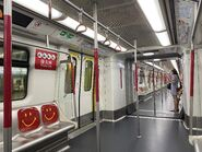 MTR Tseung Kwan O Line compartment 07-09-2021
