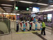 Sai Ying Pun exit gate 29-03-2015
