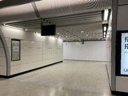 Admiralty future East Rail Line platform corridor 1010-2021