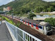 E112-E71 MTR East Rail Line 30-07-2020