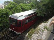 Peak Tram leave to The Peak Station 03-05-2017