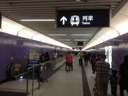 Sai Ying Pun Exit A to concourse corridor 29-03-2015(2)