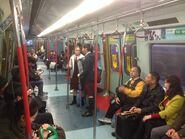 MLR train compartment