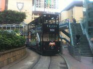 Hong Kong Tramways 154(S05) Causeway Bay to Sheung Wan(Western Market) 17-04-2014