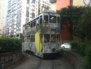 Hong Kong Tramways 102(S20) Causeway Bay to Sheung Wan(Western Market) 17-04-2014